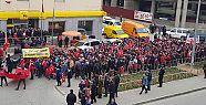 Öğrenciler Afrin için yürüdüler
