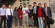 Öğrencilerden Gazi Ziyareti