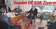 Saadet'ten SGK Ziyareti