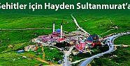 Şehitler için Hayden Sultanmurat'a!