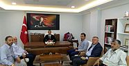Of Saadet'ten Kaymakam Arslan'a ziyaret