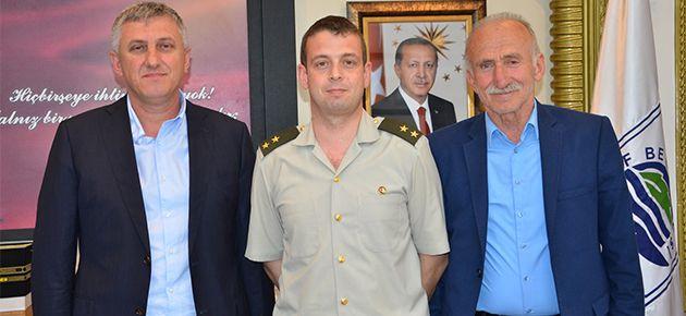Toscalı'dan Başkan Sarıalioğlu'na...