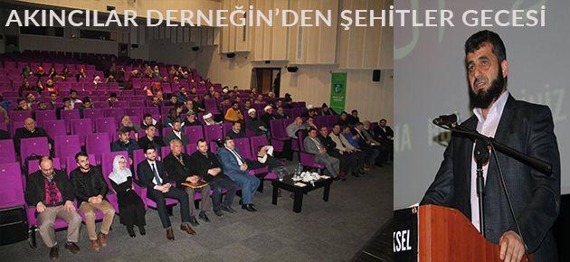 Trabzon Akıncılarından Şehitler Gecesi Programı!