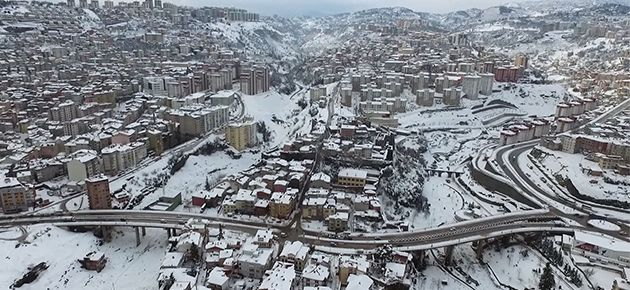 Trabzon'da kar yağışı bekleniyor...