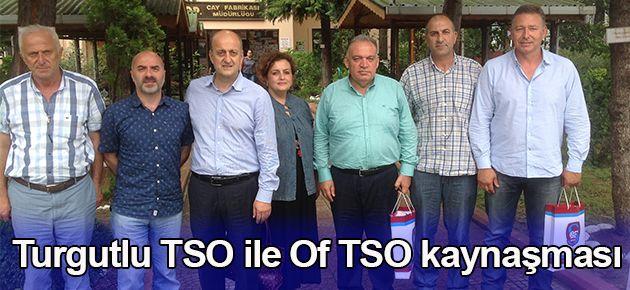 Turgutlu TSO ile Of TSO kaynaşması