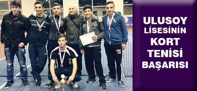 Ulusoy Lisesinin Kort Tenisi Başarısı