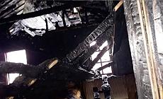 Ballıca Mahallesinde korkutan yangın