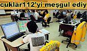 Çocuklar112'yi meşgul ediyor!