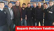 Of'ta Başarılı Polislere Takdirname