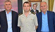 Toscalı'dan Başkan Sarıalioğlu'na Veda Ziyareti