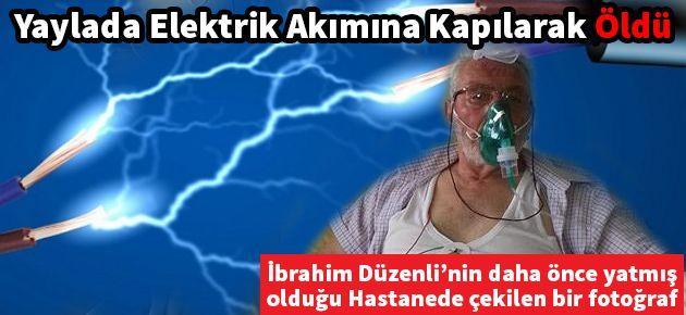 Yaylada Elektrik Akımına Kapılan...