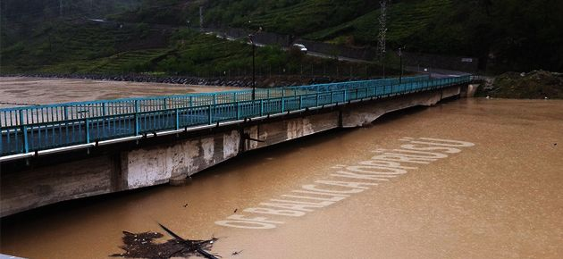 Yemişalan-Ballıca Köprüsü ulaşıma kapandı