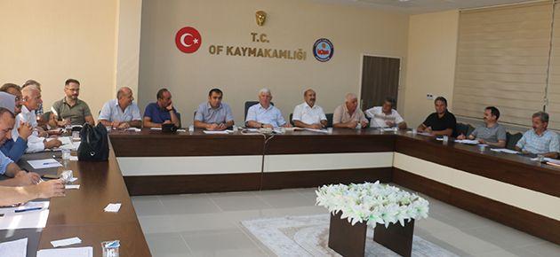 Yeni eğitim yılının ilk müdürler toplantısı yapıldı