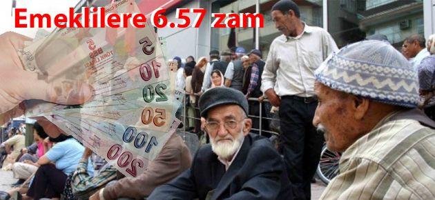 Zam sonrası en düşük emekli maaşı..