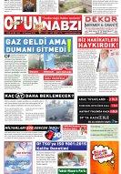 Ofunnabzi.com | Of'un Nabzı Gazetesi 140. Sayısı