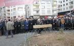 Hasan Şevki Küçükakyüz'ün cenaze namazı
