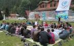 Anadolu Gençlik Uzungöl Yaz Kampı Tanışma bölümü