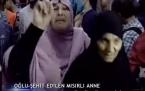 Oğlu şehid edilen Mısır'lı anne böyle feryad etti