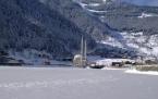 Uzungöl donmuş göl oldu