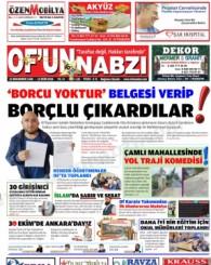 Of'un Nabzı Gazetesi 121. Sayısı