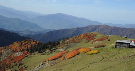 Karadeniz'den sonbahar manzaraları