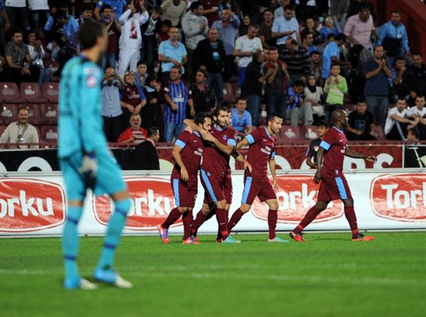 Trabzonspor-Kasımpaşa FOTO GALERİ