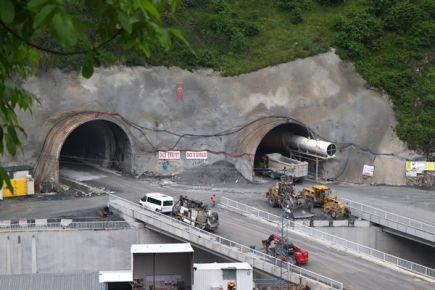 Büyük Zigana tünelinde son durum
