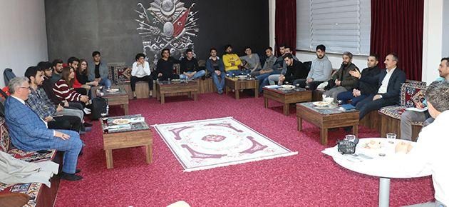 Of Medya Derneği Üniversite öğrencileriyle buluştu