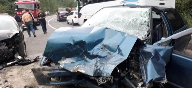 Tehlikeli virajda trafik kazası- 1 ölü