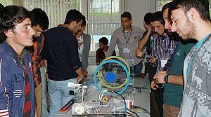 A.Kanca Meslek Yüksek Okulu'nda  Projeler yarıştı