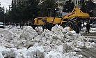 Belediyeden Hafta Sonu Kar Mesaisi