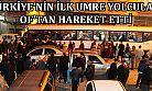 İLK UMRE YOLCULARI OF'TAN HAREKET ETTİ