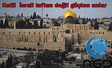Katil  İsrail laftan değil güçten anlar