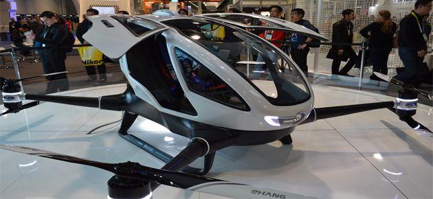 Yolcu Taşıyan Drone Taksiler Geliyor