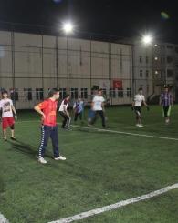 Saadet Gençliğinden Halı Saha Turnuvası